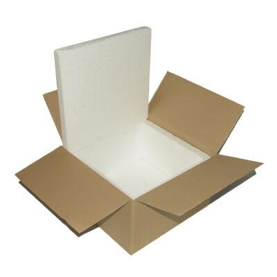 Hőszigetelt doboz postázáshoz